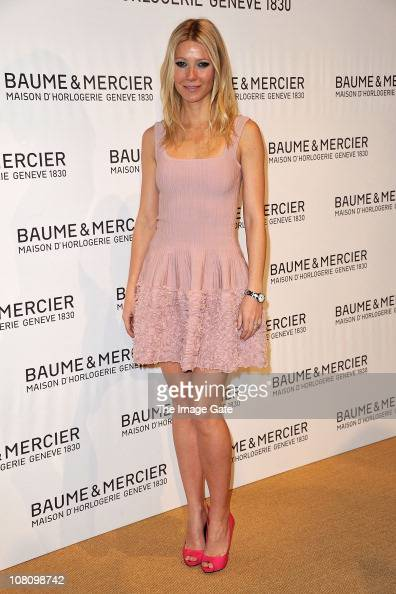 Gwyneth Paltrow attends the Baume Mercier Gala Evening for 21st SIHH High Jewellry Fair on January 17 2011 in Geneva Switzerland
