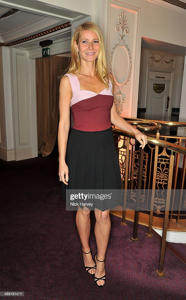 <a gi-track='captionPersonalityLinkClicked' href=/galleries/search?phrase=Gwyneth+Paltrow&family=editorial&specificpeople=171431 ng-click='$event.stopPropagation()'>Gwyneth Paltrow</a> attends the British Fashion Awards 2013 at London Coliseum on December 2, 2013 in London, England.