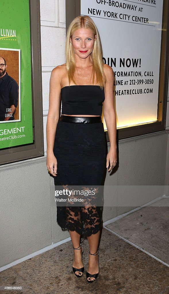 Gwyneth Paltrow attends the Broadway Opening Night performance of 'The Country House' at the Samuel J Friedman Theatre on October 2 2014 in New York...
