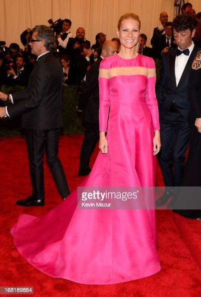 Gwyneth Paltrow attends the Costume Institute Gala for the 'PUNK Chaos to Couture' exhibition at the Metropolitan Museum of Art on May 6 2013 in New...