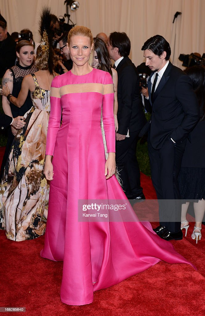 <a gi-track='captionPersonalityLinkClicked' href=/galleries/search?phrase=Gwyneth+Paltrow&family=editorial&specificpeople=171431 ng-click='$event.stopPropagation()'>Gwyneth Paltrow</a> attends the Costume Institute Gala for the 'PUNK: Chaos to Couture' exhibition at the Metropolitan Museum of Art on May 6, 2013 in New York City.
