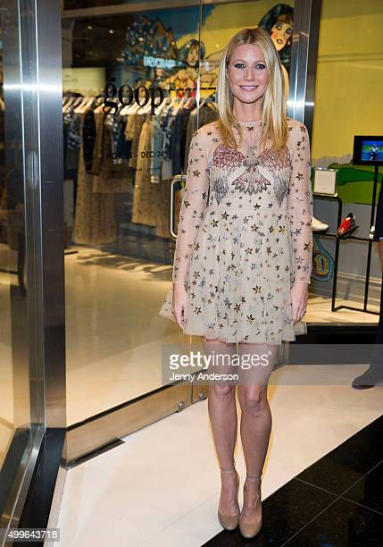Gwyneth Paltrow attends the goop markt grand opening at The Shops at Columbus Circle on December 2 2015 in New York City