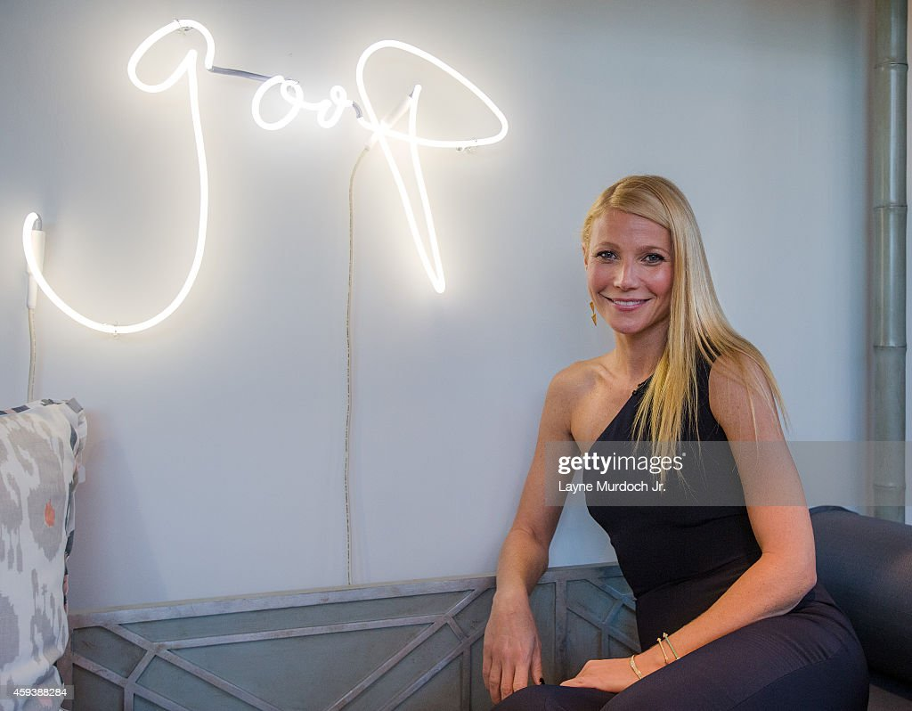Gwyneth Paltrow attends the goop pop Dallas Launch Party in Highland Park Village on November 20 2014 in Dallas Texas