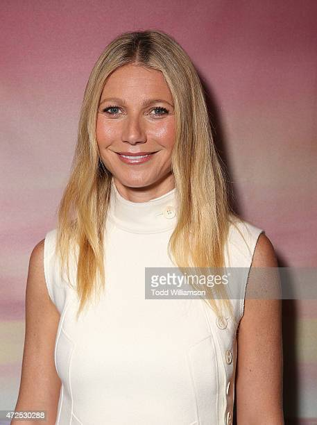 Gwyneth Paltrow attends the 'I'll See You In My Dreams' screening at The London West Hollywood on May 7 2015 in West Hollywood California