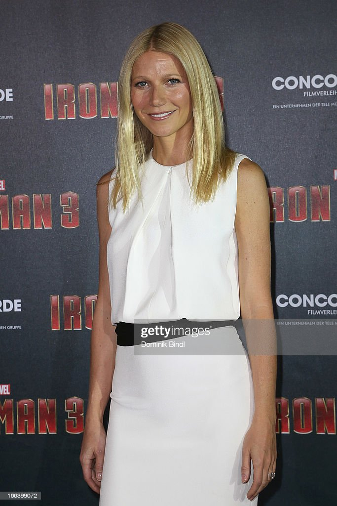 <a gi-track='captionPersonalityLinkClicked' href=/galleries/search?phrase=Gwyneth+Paltrow&family=editorial&specificpeople=171431 ng-click='$event.stopPropagation()'>Gwyneth Paltrow</a> attends the 'Iron Man 3' Photocall at Hotel Bayerischer Hof on April 12, 2013 in Munich, Germany.