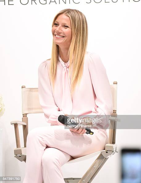 Gwyneth Paltrow attends the Juice Beauty Exclusive Personal Appearance at Holt Renfrew Flagship Store on July 14 2016 in Toronto Canada