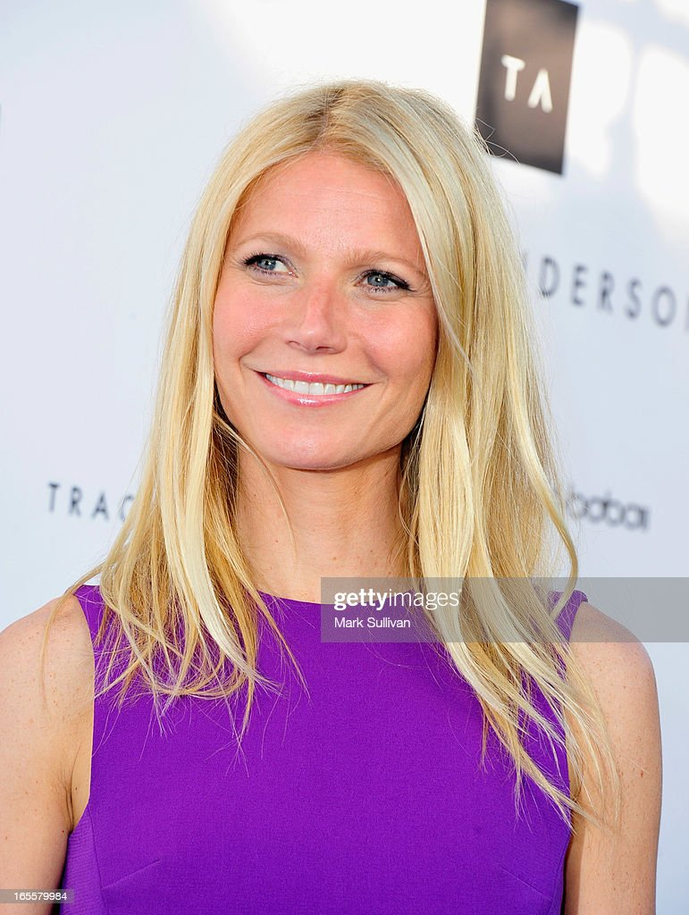 <a gi-track='captionPersonalityLinkClicked' href=/galleries/search?phrase=Gwyneth+Paltrow&family=editorial&specificpeople=171431 ng-click='$event.stopPropagation()'>Gwyneth Paltrow</a> attends the opening of Tracy Anderson flagship studio at Tracy Anderson Flagship Studio on April 4, 2013 in Brentwood, California.