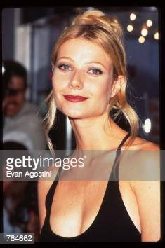 Gwyneth Paltrow attends the premiere of 'Emma' July 22 1996 in New York City This adaptation of Jane Austen's novel won an Academy Award for best...