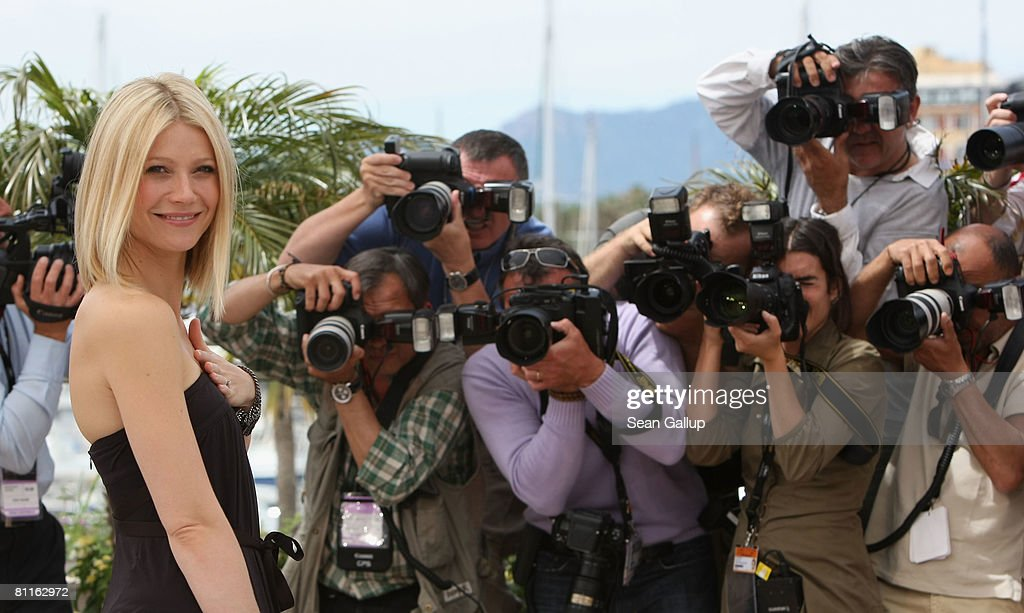 Gwyneth Paltrow attends the Two Lovers Photocall at the Palais des Festivals during the 61st International Cannes Film Festival on May 20 , 2008 in Cannes, France.