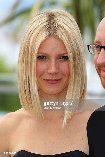 Gwyneth Paltrow attends the 'Two Lovers Premiere' premiere at the Palais des Festivals during the 61st Cannes International Film Festival on May 19...