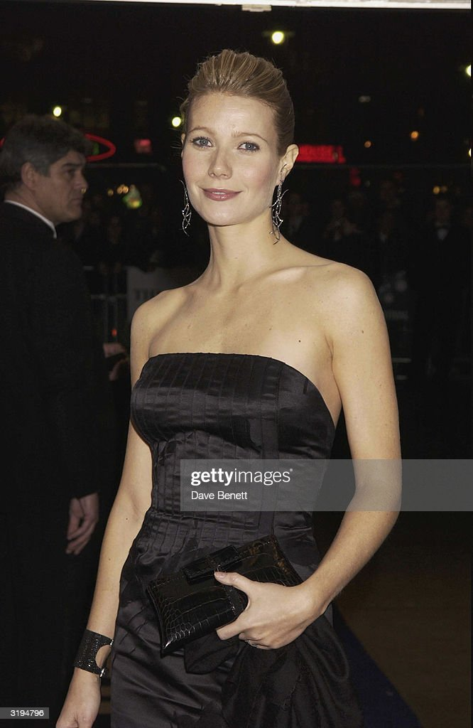 <a gi-track='captionPersonalityLinkClicked' href=/galleries/search?phrase=Gwyneth+Paltrow&family=editorial&specificpeople=171431 ng-click='$event.stopPropagation()'>Gwyneth Paltrow</a> attends the UK Premiere of 'Silvia' at the Odeon, Leicester Square on November 7, 2003 in London.