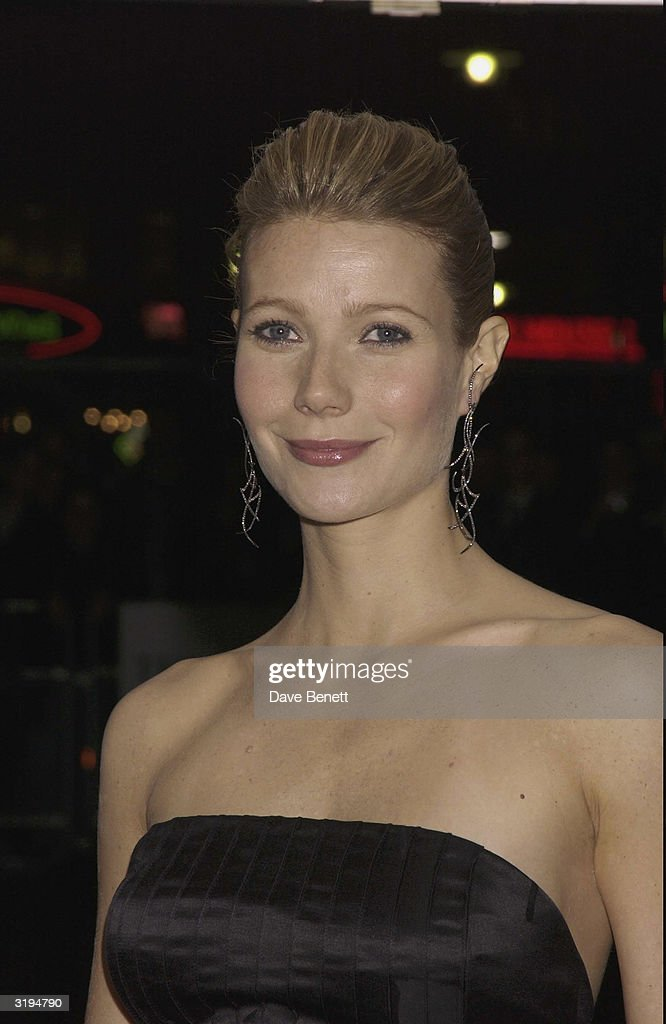 <a gi-track='captionPersonalityLinkClicked' href=/galleries/search?phrase=Gwyneth+Paltrow&family=editorial&specificpeople=171431 ng-click='$event.stopPropagation()'>Gwyneth Paltrow</a> attends the UK Premiere of 'Sylvia' at the Odeon, Leicester Square on November 7, 2003 in London.