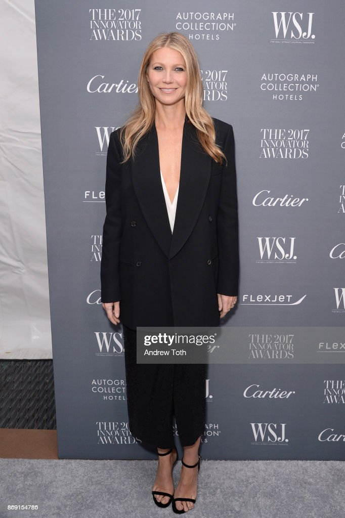 Gwyneth Paltrow attends the WSJ. Magazine 2017 Innovator Awards at MOMA on November 1, 2017 in New York City.