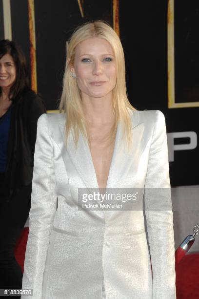 Gwyneth Paltrow attends World Premiers of Paramount Pictures IRON MAN 2 at El Capitan Theatre on April 26 2010 in Hollywood California