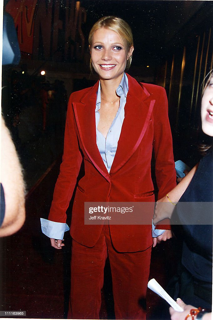 Gwyneth Paltrow during 1996 MTV Video Music Awards in New York City New York United States