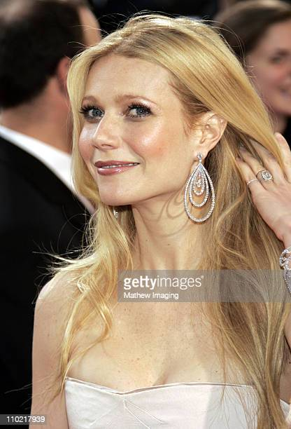 Gwyneth Paltrow during The 77th Annual Academy Awards ET Platform at Kodak Theatre in Los Angeles California United States