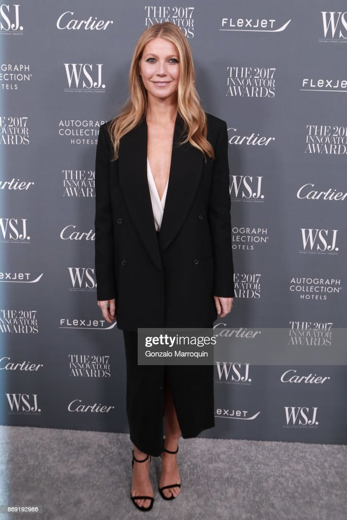 Gwyneth Paltrow during the WSJ Magazine 2017 Innovator Awards at Museum of Modern Art on November 1, 2017 in New York City.