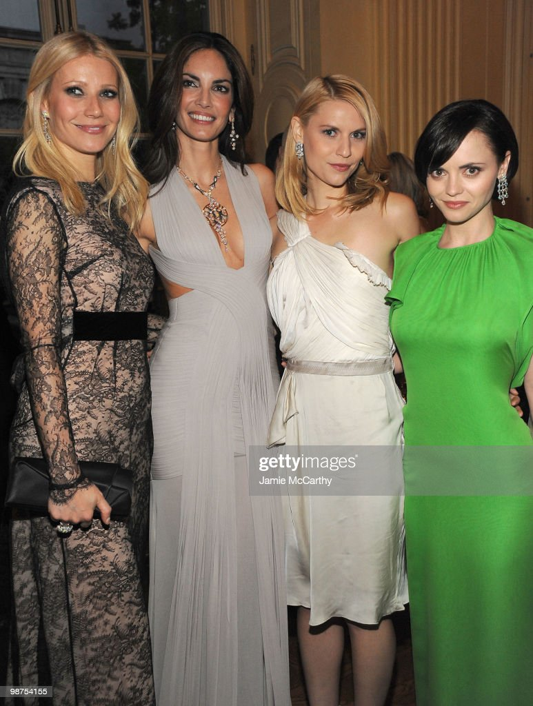 Gwyneth Paltrow Eugenia Silva Claire Danes and Christina Ricci attend the star studded gala celebrating Chopard's 150 years of excellence at The...
