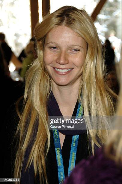 Gwyneth Paltrow Exclusive Coverage during 2006 Sundance Film Festival Director's Brunch at Sundance Resort in Park City Utah United States