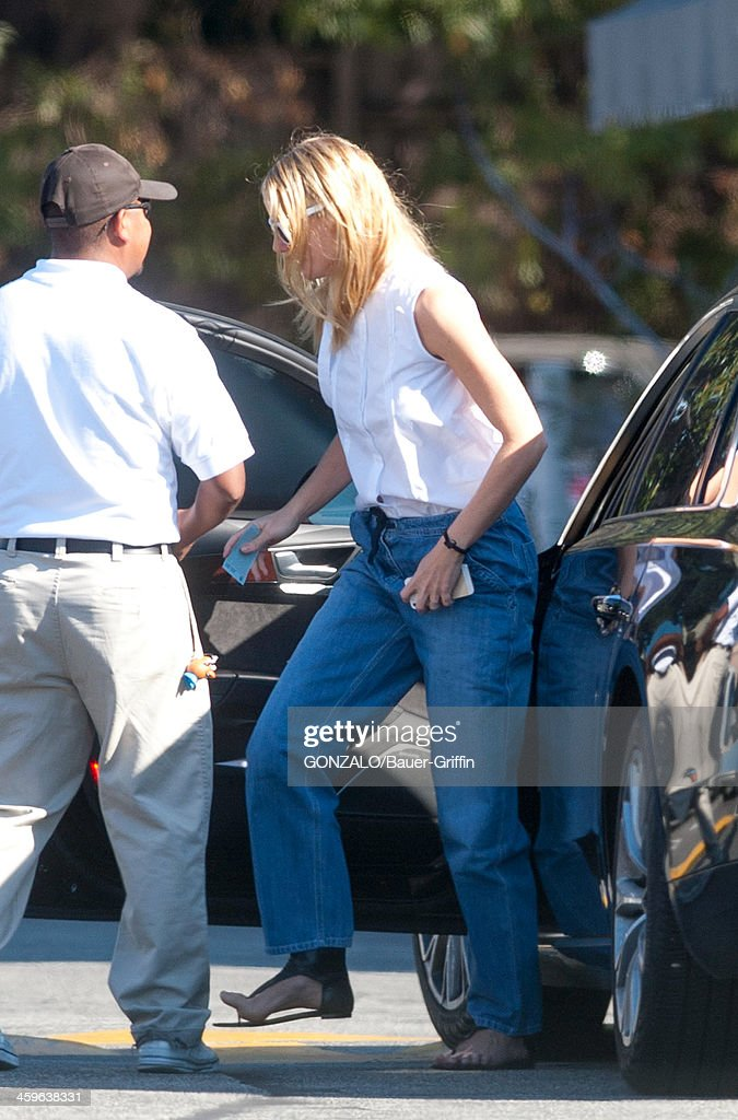 Gwyneth Paltrow is seen on December 28, 2013 in Los Angeles, California.