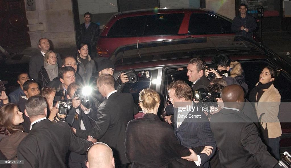 Gwyneth Paltrow Leaving The Party, Sylvia Movie After Party At Mezzo In Wardour Street, London