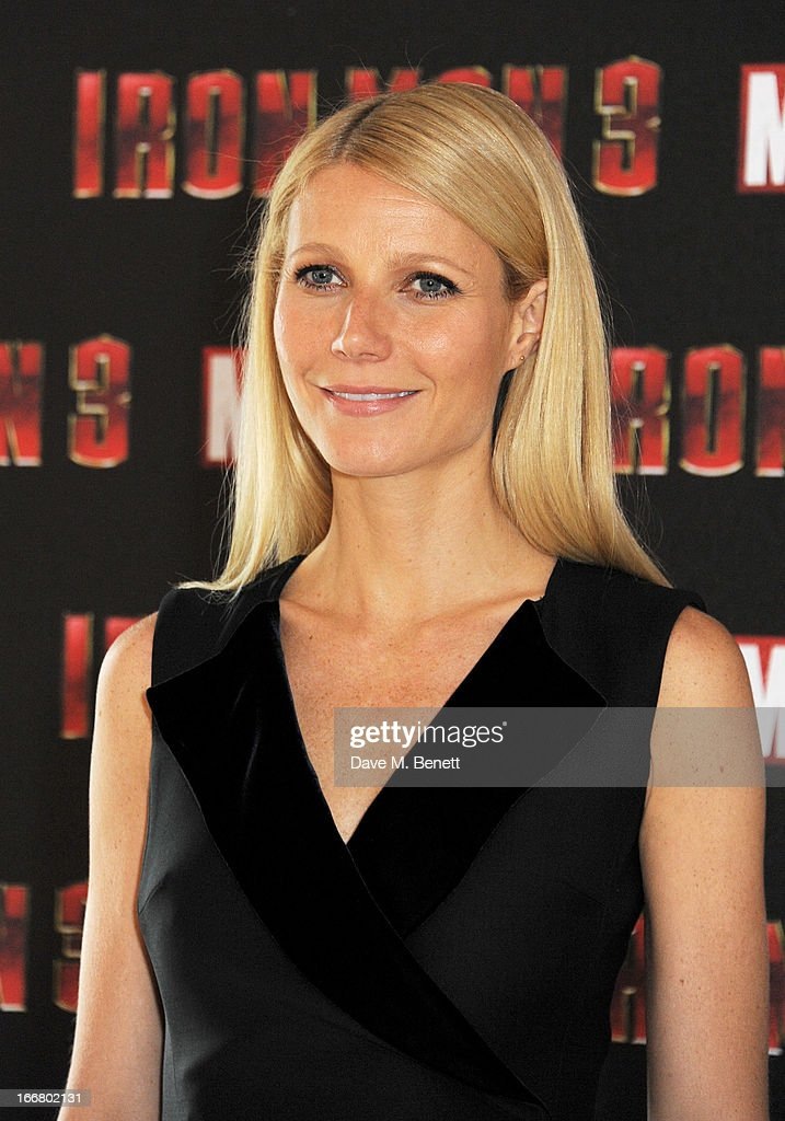 <a gi-track='captionPersonalityLinkClicked' href=/galleries/search?phrase=Gwyneth+Paltrow&family=editorial&specificpeople=171431 ng-click='$event.stopPropagation()'>Gwyneth Paltrow</a> poses at the Iron Man 3 photocall at The Dorchester on April 17, 2013 in London, England.