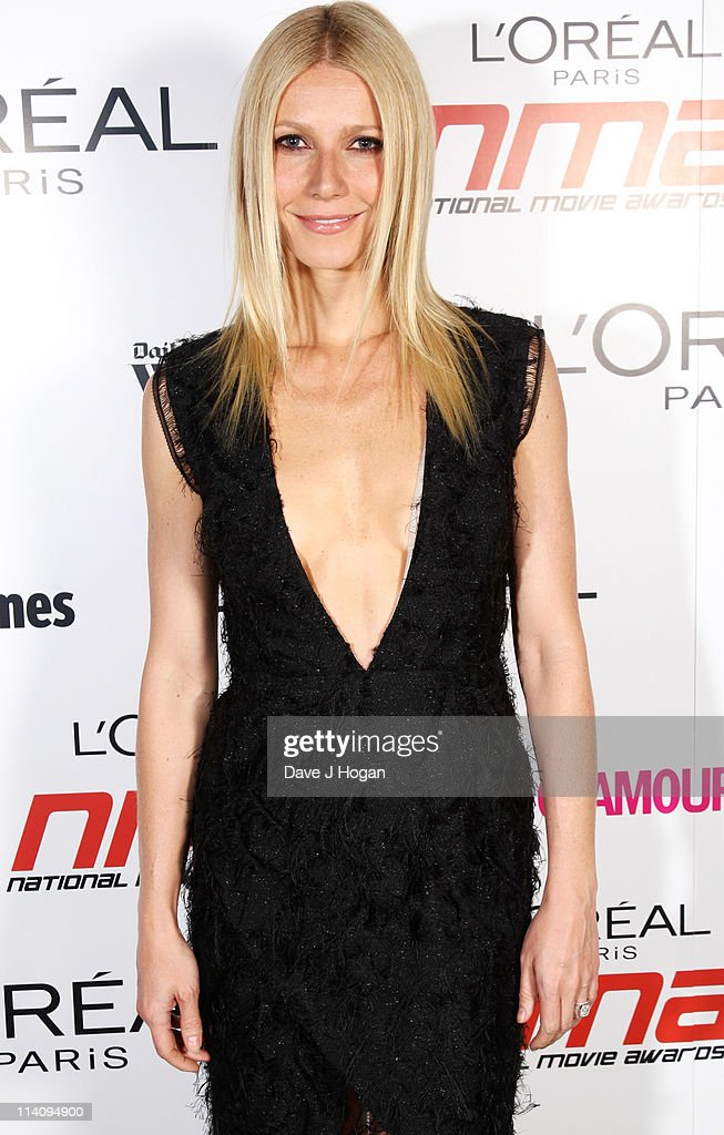 <a gi-track='captionPersonalityLinkClicked' href=/galleries/search?phrase=Gwyneth+Paltrow&family=editorial&specificpeople=171431 ng-click='$event.stopPropagation()'>Gwyneth Paltrow</a> poses backstage at the National Movie Awards 2011 at Wembley arena on May 11, 2011 in London, England.
