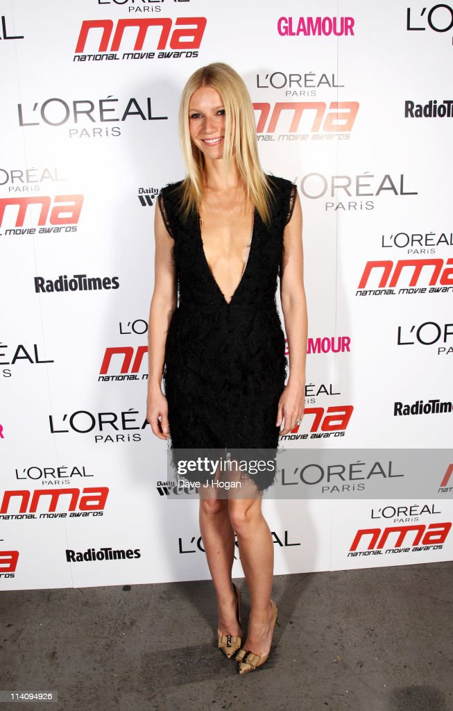 Gwyneth Paltrow poses backstage at the National Movie Awards 2011 at Wembley arena on May 11, 2011 in London, England.