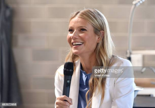 Gwyneth Paltrow speaks at Fast Company with Gwyneth Paltrow and Goop at FC/LA A Meeting Of The Most Creative Minds on May 16 2017 in Santa Monica...