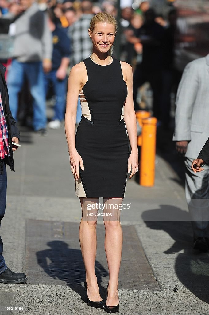 Gwyneth Paltrow visits Good Morning America on April 10, 2013 in New York City.
