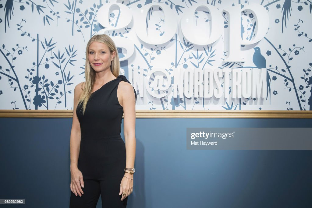 Gwyneth Paltrow Visits goop-In@Nordstrom for Book Signing
