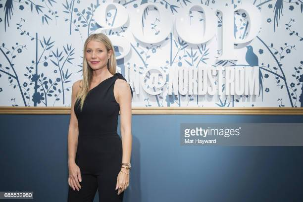 Gwyneth Paltrow visits goopIn@Nordstrom for Book Signing on May 19 2017 in Seattle Washington