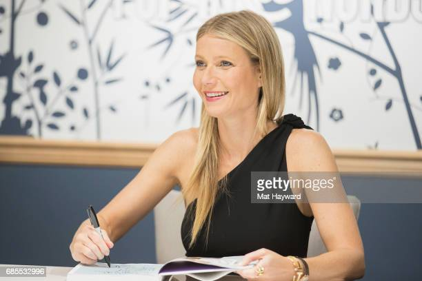 Gwyneth Paltrow visits goopIn@Nordstrom for Book Signingon May 19 2017 in Seattle Washington