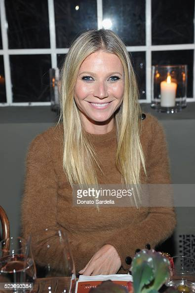 Gwyneth Paltrow wearing Bally attends Bally Dinner celebrating Beverly Hills flagship store opening in support of Communities in Schools on April 21...