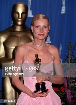 AWARDS 'THE OSCARS' PRESSROOM Gwyneth Paltrow Winner Best Actress for 'Shakespeare in Love' Photo Evan Agostini/Getty Images