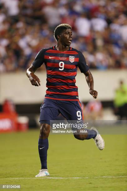 Gyasi Zardes of United States of America during the 2017 CONCACAF Gold Cup Quarter Final match between United States of America and El Salvador at...