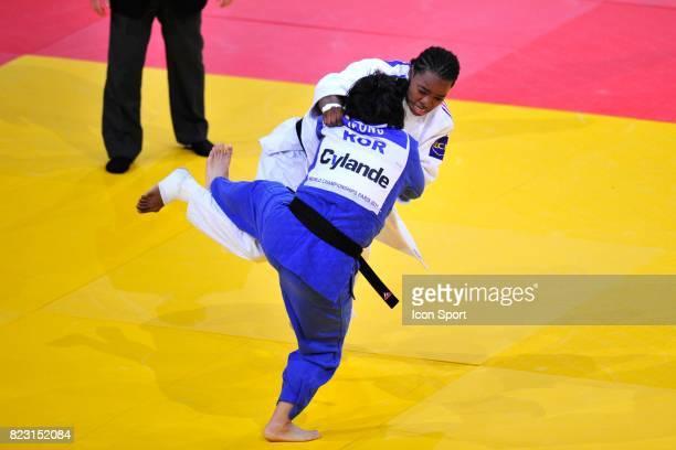 Gyeong Mi JEONG / Audrey TCHEUMEO 78kg Championnats du Monde de Judo 2011 Paris