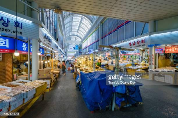 Gyeongdong Market, Seoul, Korea.