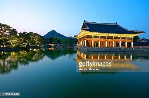 Gyeonghoeru Pavilion, Gyeongbokgung Palace, Seoul