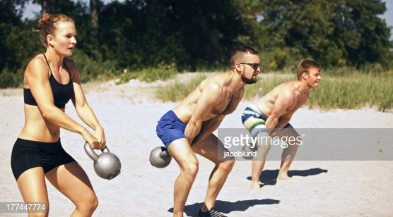 gym Group Workout : Stock Photo