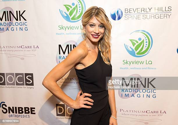 Gym Owner/actress Maddalena Corvaglia attends Elisabetta and Maddalena For SkyViewLA on December 9 2016 in Los Angeles California
