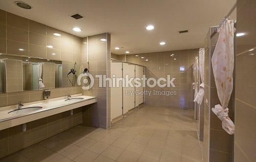 Gym shower stock photo thinkstock