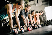 gym Training Push Ups
