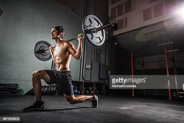 Crossfit Training mit Langhantel