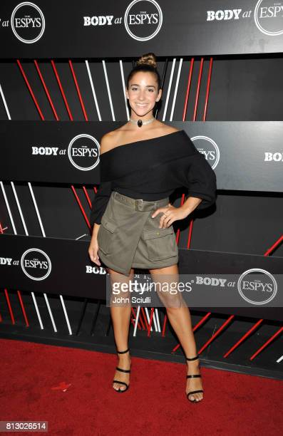 Gymanst Aly Raisman at BODY at ESPYS at Avalon on July 11 2017 in Hollywood California