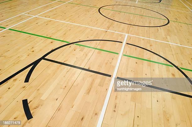 Gymnasium floor