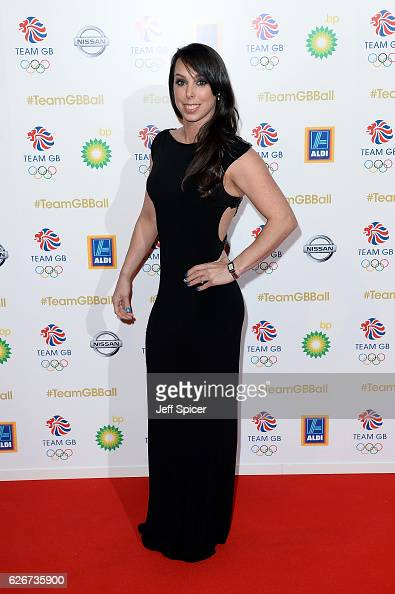 Gymnast Beth Tweddle attends the Team GB Ball at Battersea Evolution on November 30 2016 in London England