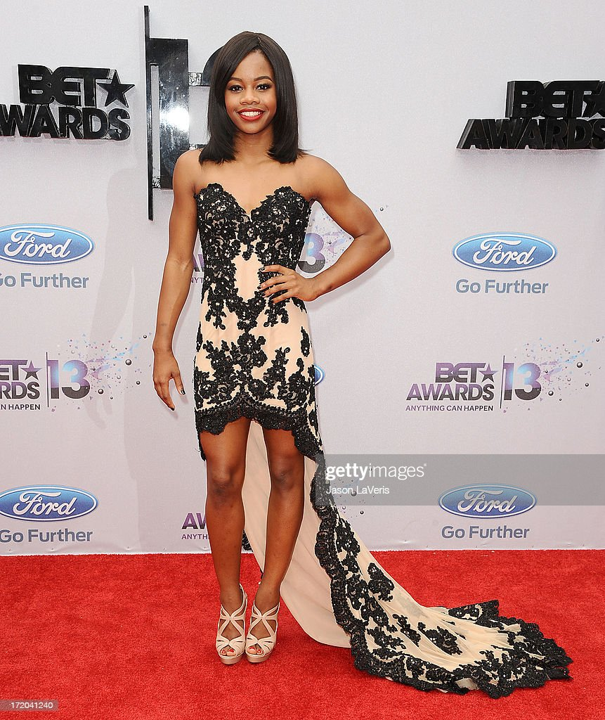Gymnast Gabby Douglas attends the 2013 BET Awards at Nokia Theatre L.A. Live on June 30, 2013 in Los Angeles, California.