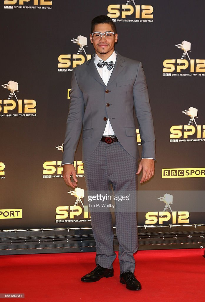 Gymnast Louis Smith attends the BBC Sports Personality of the Year Awards at ExCeL on December 16, 2012 in London, England.