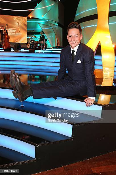 Gymnast Marcel Nguyen during the 'Sportler des Jahres 2016' Gala at Kurhaus on December 18 2016 in BadenBaden Germany